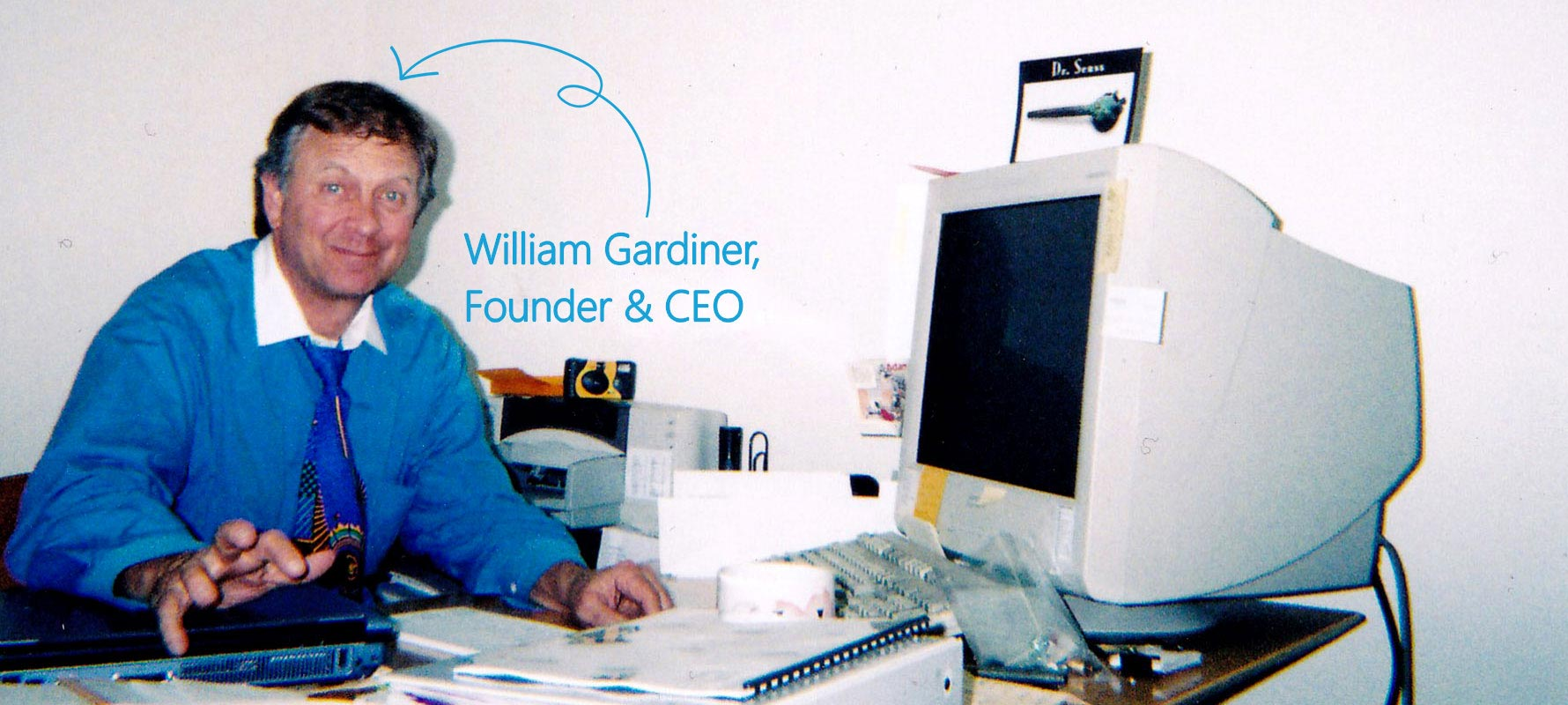 PENCOM founder and president Bill Gardiner.
