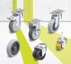 Light Duty Wheel and Casters