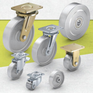 Cast Iron and Steel Wheels and Castors