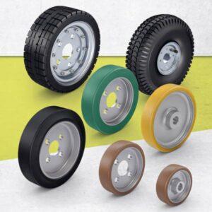 Drive Wheels, Hub Fitting Wheels and Basic Wheels