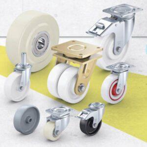 Nylon and Polypropylene Wheels and Castors