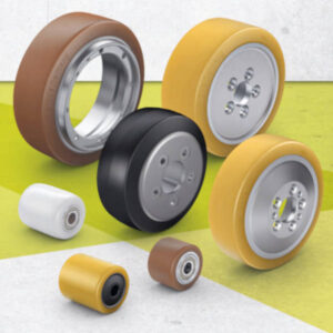 Wheels and Castors for Pallet Trucks, and Other Industrial Trucks